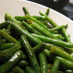Piure din fasole verde
