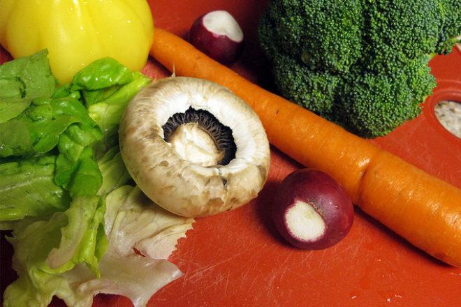ciuperci cu legume