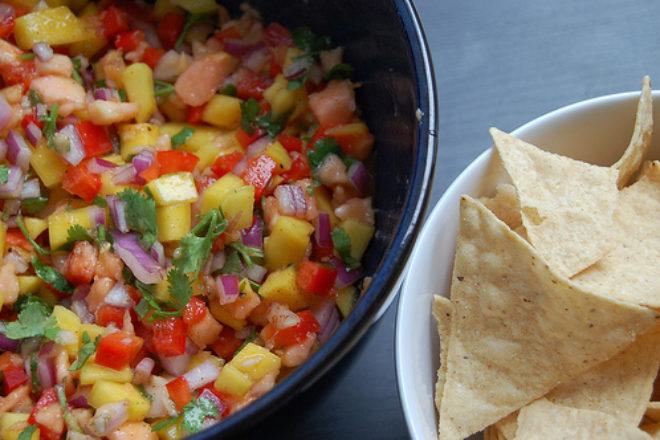 salsa plină de vitamina C