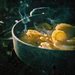 mâncare de cartofi cu țelină