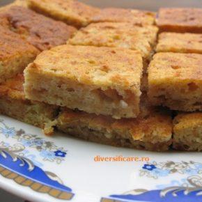 Prăjitură altfel cu mere