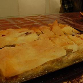 ștrudel cu brânză