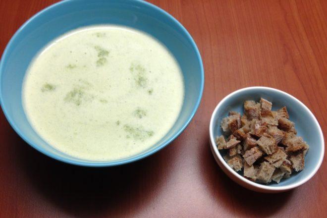supă cremă de pătrunjel