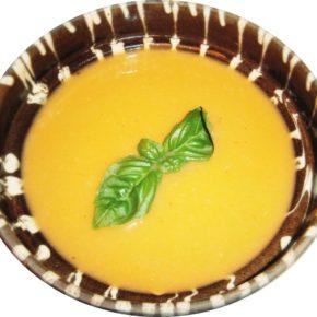 Supă cremă de cartof și pară
