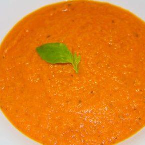 Supă cremă de roșii