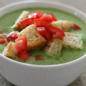 Supă cremă de rucola
