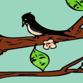 O frunză tânără – Poveste pentru copii
