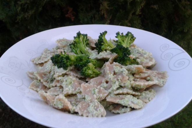 paste cu pesto de broccoli