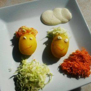 Cartofi amuzanți
