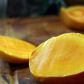 Cremă de orez cu mango